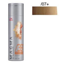Magma Pigmented Lightener /07+ naturale sabbia intenso