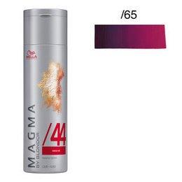 Magma Pigmented Lightener /65 violetto mogano Wella 120 gr.