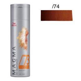 Magma Pigmented Lightener /74 sabbia ramato Wella 120 gr