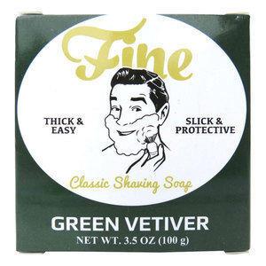 Fine Sapone da barba Green Vetiver 100 gr