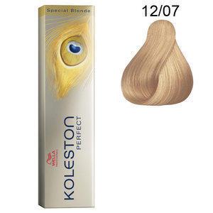 Koleston Perfect 12/07 Special Blonde 60 ml Wella naturale sabbia