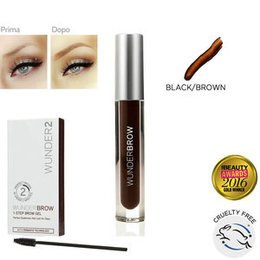 Wunderbrow Eyebrow Gel Black Brown 12 ml Wunder2