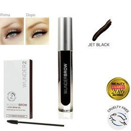 Wunderbrow Eyebrow Gel Jet Black 12 ml Wunder2