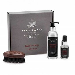 Kit Regalo Barba Shampoo+Balsamo+Spazzola Wengee Acca Kappa