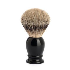 Pennello da Barba in Tasso con Manico Nero Muhle
