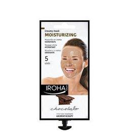 Moisturizing Iroha Maschera in Crema Idratante Viso Cioccolata 25 gr.