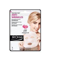 Anti-Wrinkles Iroha Maschera Antirughe Q10 + Acido Ialuronico in tessuto