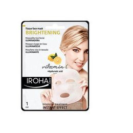 Brightening Iroha Maschera Illuminante vitamina C + Acido Ialuronico in
