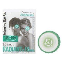 Intensive Eye Pads Iroha Patchs Antigonfiore Occhi Uomo Donna 10 Pz.