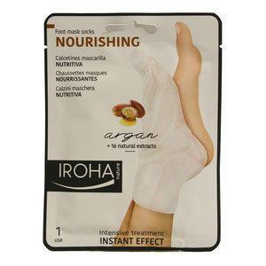 Nourishing Iroha Calzini Maschera Nutrienti Argan 1 Paio