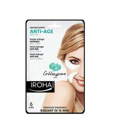 Anti-Age Iroha Patchs Hidrogel Anti Age Collagene Occhi Labbra 6 pz.