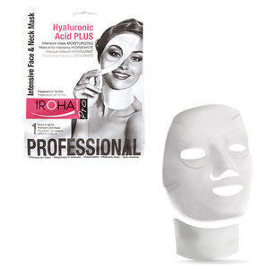 Hyaluronic Acid Plus Iroha Pro Maschera Intensiva Idratante Viso e Collo