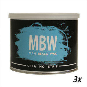 MBW Men Black Wax 400 ml Promo 3 Vasi