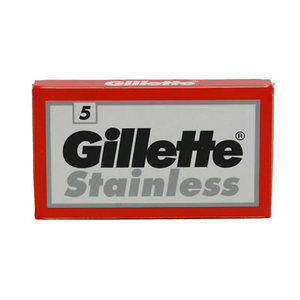 Lametta Gillette Stainless 1 Pacchetto da 5 Lame