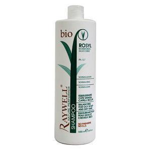 Shampoo Cute Grassa e Capelli Secchi Bio Nature Rosyl Raywell 1000 ml.