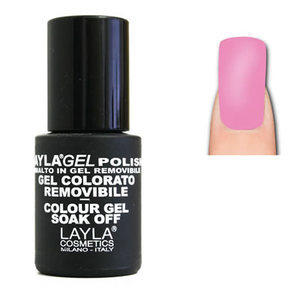 LaylaGel Color Gel Colorato Polish nr. 168 Light Fluo Strawberry