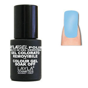 LaylaGel Color Gel Colorato Polish nr. 172 Light Fluo Blue