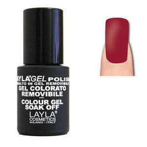LaylaGel Color Gel Colorato Polish nr. 177 Madame Red