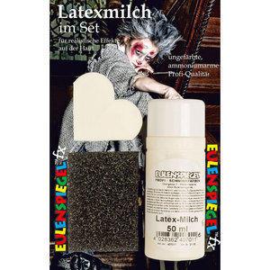 Set Latexmilch Eulenspiegel 50 ml