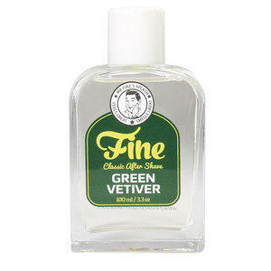Fine Green Vetiver Classic After Shave 100 ml