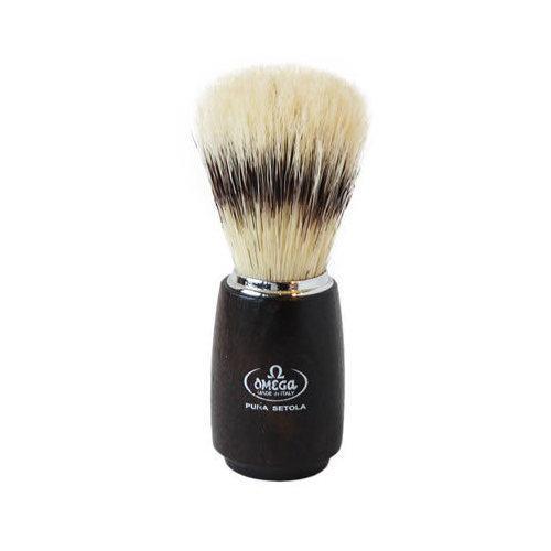 Pennello da barba in pura setola – effetto tasso Omega 11712