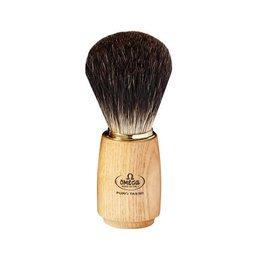 Pennello da barba in tasso Nero Omega 6150