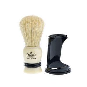 Pennello Barba Setola con Supporto Omega 80067