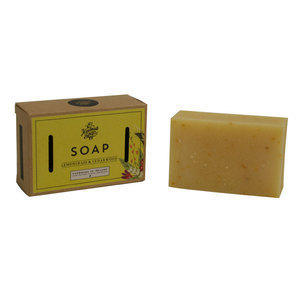 Saponetta Lemongrass & Cedarwood Soap 160 gr The Handmade Soap