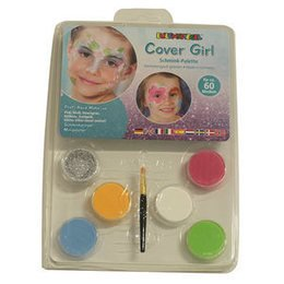 Set Profi Aqua Cover Girl 6 Colori+Pennello Eulenspiegel