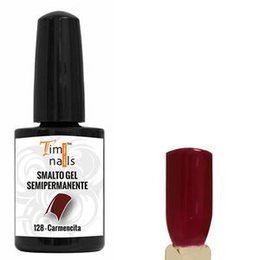 TN Smalto Gel Semipermanente nr. 128 Carmencita 14 ml. Unghie Timi Nails