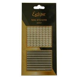 Nail Stickers Gold Estrosa