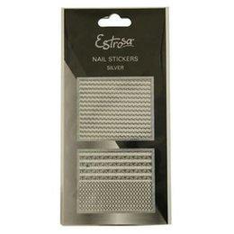 Nail Stickers Silver Estrosa