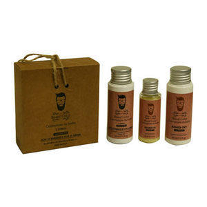 Kit Colorazione barba n° 2 Etnico Beard Color 60 + 60 + 30 ml.
