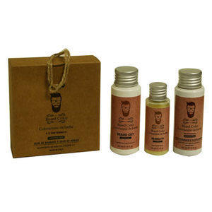 Kit Colorazione barba n° 4R Britannico Beard Color 60 + 60 + 30 ml.