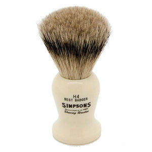 Pennello da Barba Harvard H4 Best Badger Simpsons