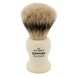 Pennello da Barba Harvard H5 Best Badger Simpsons