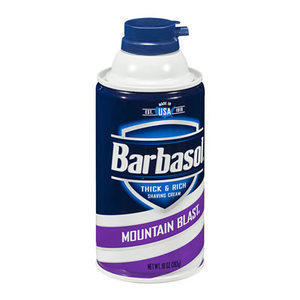 Schiuma Barba Barbasol Mountain 300 ml