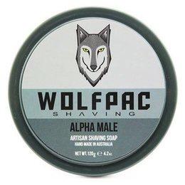 Wolfpac Sapone da barba Alpha Male 120 g.
