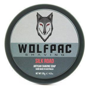 Wolfpac Sapone da barba Silk Road 120 g. Barba & Baffi Wolfpac Shaving