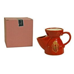 Ciotola per saponata con saponetta colore Red Truefitt & Hill