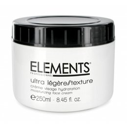 Crema Viso Idratazione Ultra Legère Lunga Durata Elements 250 ml