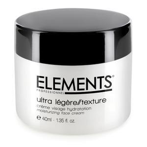 Ultra Legere Texture Crema Viso Idratazione Lunga Durata Elements 40 ml. Estetica Elements Professionnel