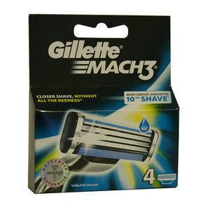 Gillette Ricambi Mach3 4 pz.