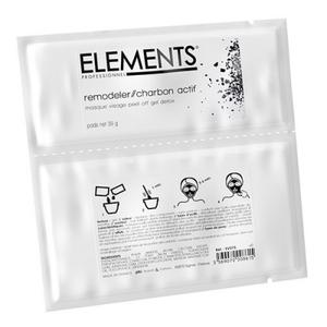 Remodeler Charbon Actif Maschera Peel-Off Carbone Attivo Elements 39 gr.