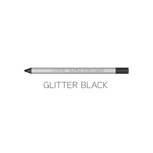 Super- Stay liner Glitter Black 1.2 gr