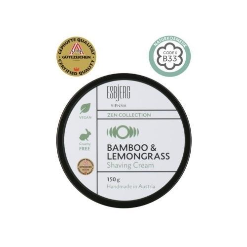 Shaving Cream Bamboo e Lemongrass ZEN Collection Esbjerg 150 gr.