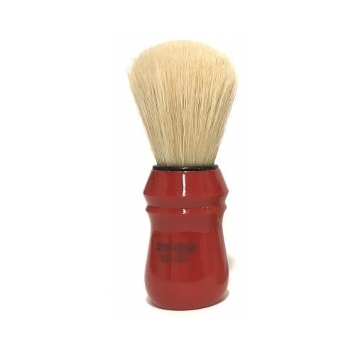 Pennello Barba Manico Rosso Ciuffo Setola Sbiancata Zenith 80N SE PP21