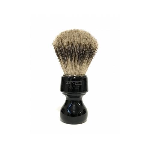 Pennello Barba Manico Nero Ciuffo Best Badger Zenith 506N PP21