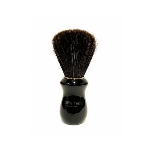 Pennello Barba Manico Nero Ciuffo Cavallo Soft Zenith 502N PP21