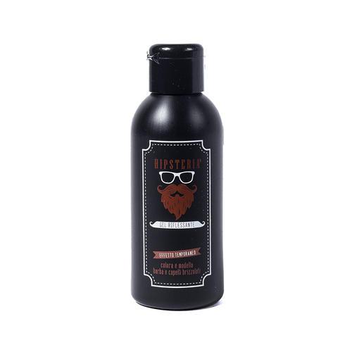 Gel Riflessante per Barba Brizzolata Hipsteria 125 ml.